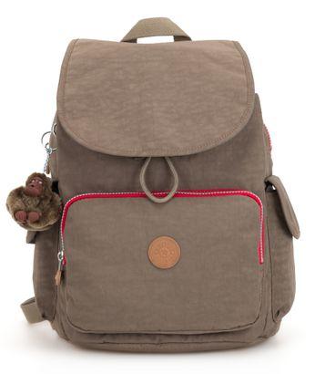 kipling Basic City Backpack L True Beige Combo