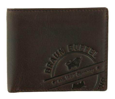 Braun Büffel Parma LP Card Wallet Brown