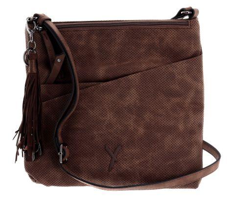 SURI FREY Romy Crossover Bag Brown