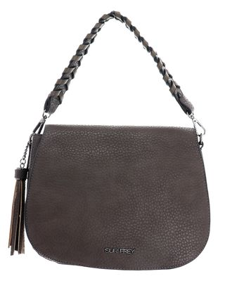 SURI FREY Piggy Handbag with Flap M Mud