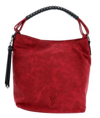 SURI FREY Romy Shoulder Bag L Red Kombi