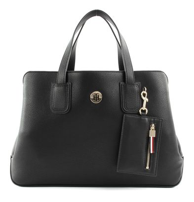 TOMMY HILFIGER Charming Tommy Medium Work Bag Black