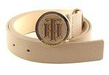 TOMMY HILFIGER TH Round Buckle Belt W100 Tannin buy online at modeherz