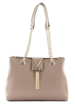 VALENTINO by Mario Valentino Divina Lady Shoulder Bag S Taupe