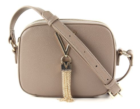 VALENTINO by Mario Valentino Divina Lady Crossover Bag Taupe
