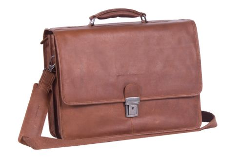 The Chesterfield Brand Shay Laptop Bag Cognac
