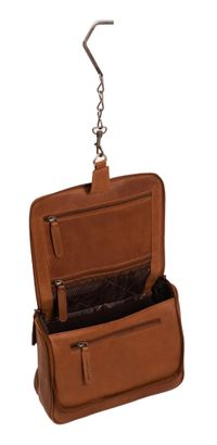 The Chesterfield Brand Gillian Toilet Bag Cognac