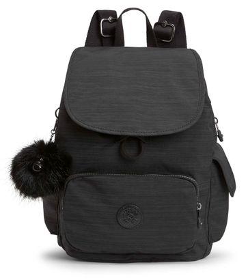 kipling Basic Plus Eyes Wide Open City Pack S Backpack True Dazzling Black