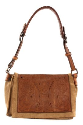 CATERINA LUCCHI Giotto Shoulder Bag Beige