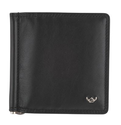Golden Head Polo Money Clip Billfold Wallet Black Money Clip Billfold Wallet