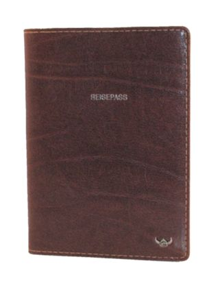 Golden Head Colorado Classic Passport Cover Tobacco