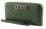 GUESS Uptown Chic SLG Large Zip Around Forest buy online at modeherz