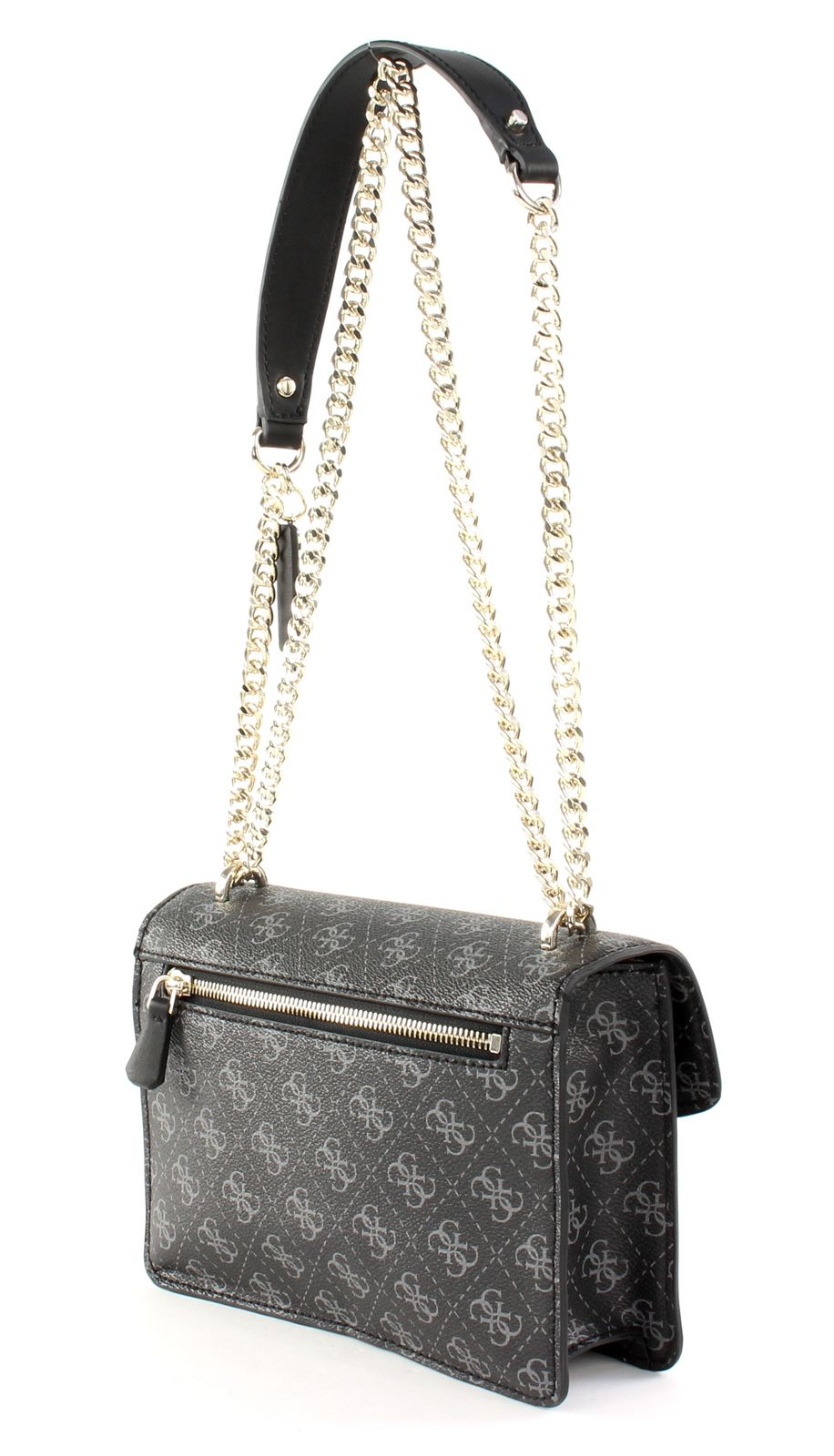 GUESS Aline Convertible Xbody Flap Coal | eBay