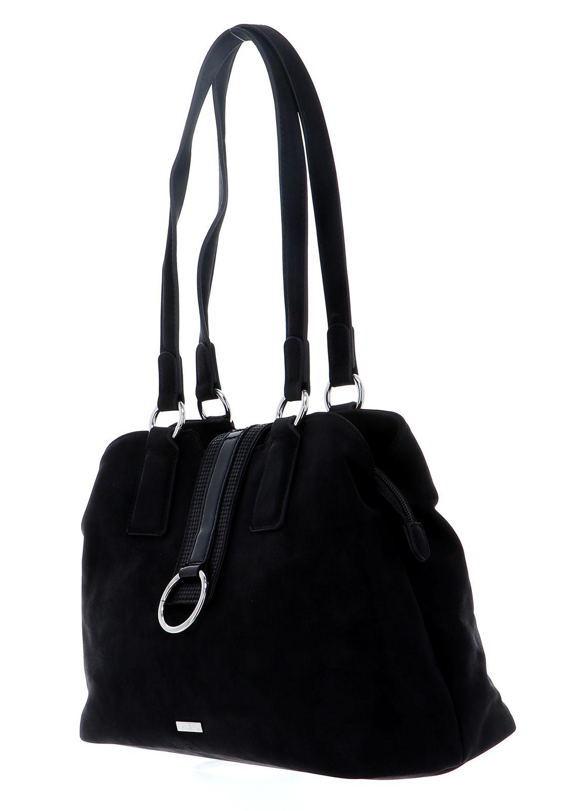 Tamaris Madoka Shoulder Bag Black Comb.