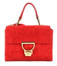 COCCINELLE Arlettis Suede Top Handle Bag Coquelicot buy online at modeherz
