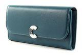 COCCINELLE Craquante Flap Wallet Teal online kaufen bei modeherz