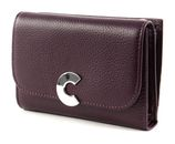 COCCINELLE Craquant Small Flap Wallet Plum buy online at modeherz