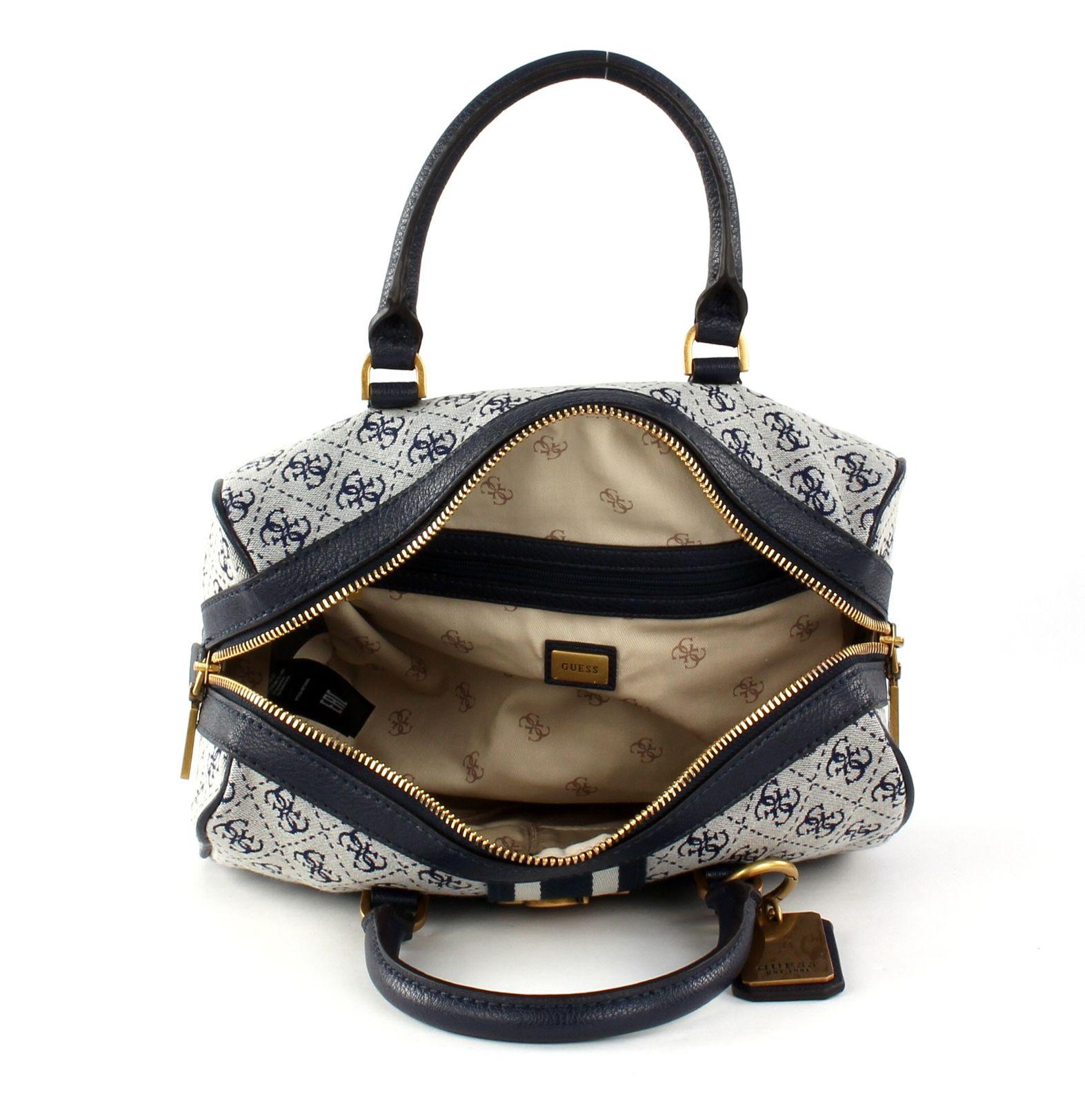 Guess Vintage Damen Handtasche Braun: : Koffer
