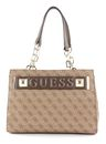 GUESS Kerrigan Girlfriend Carryall Brown online kaufen bei modeherz