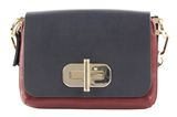 TOMMY HILFIGER Leather Statement Crossover Tommy Navy Mix buy online at modeherz