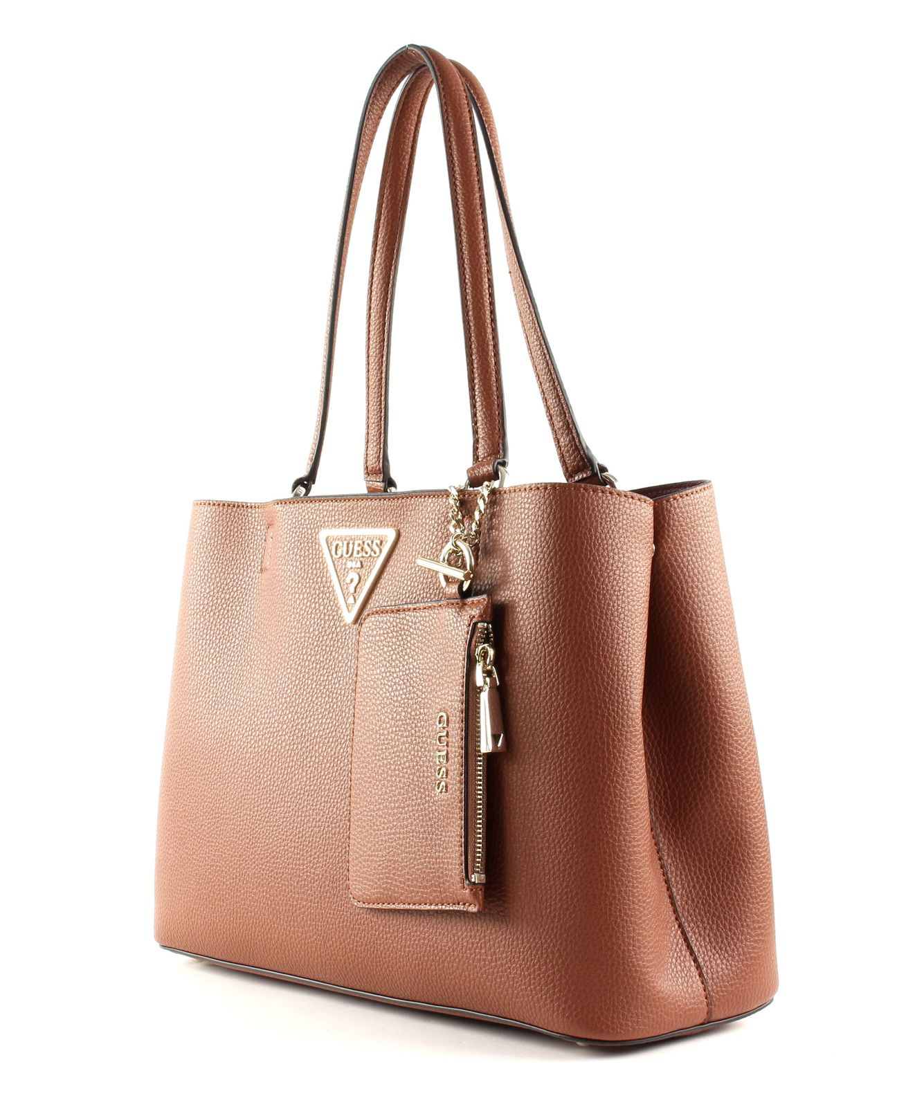 GUESS Aretha Girlfriend Carryall Cognac