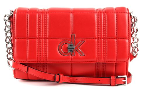 Calvin Klein Re-Lock Flap XBody Process Red