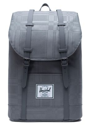 Herschel Retreat Backpack Quiet Shade Plaid