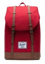 Herschel Retreat Backpack Red / Saddle Brown online kaufen bei modeherz
