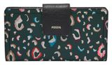 FOSSIL Logan RFID Tab Wallet Green Multi buy online at modeherz
