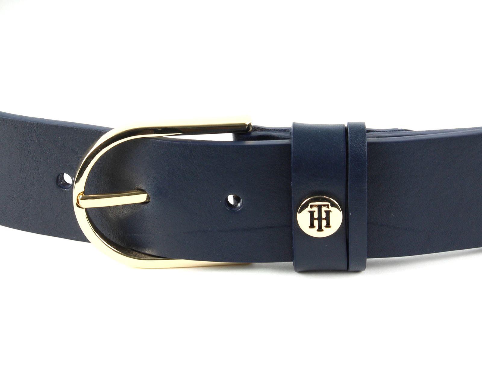 TOMMY HILFIGER Classic Belt 3.5 W100 Gürtel Accessoire Sky Captain Blau Neu