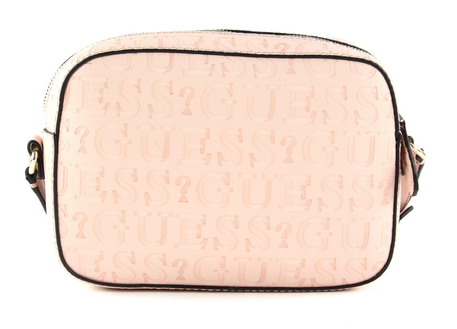 Kamryn Crossbody Top Zip Logo (peach)