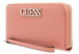 GUESS Uptown Chic SLG Large Zip Around Peach buy online at modeherz
