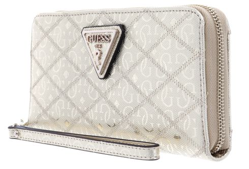 GUESS Astrid SLG Large Zip Around Gold