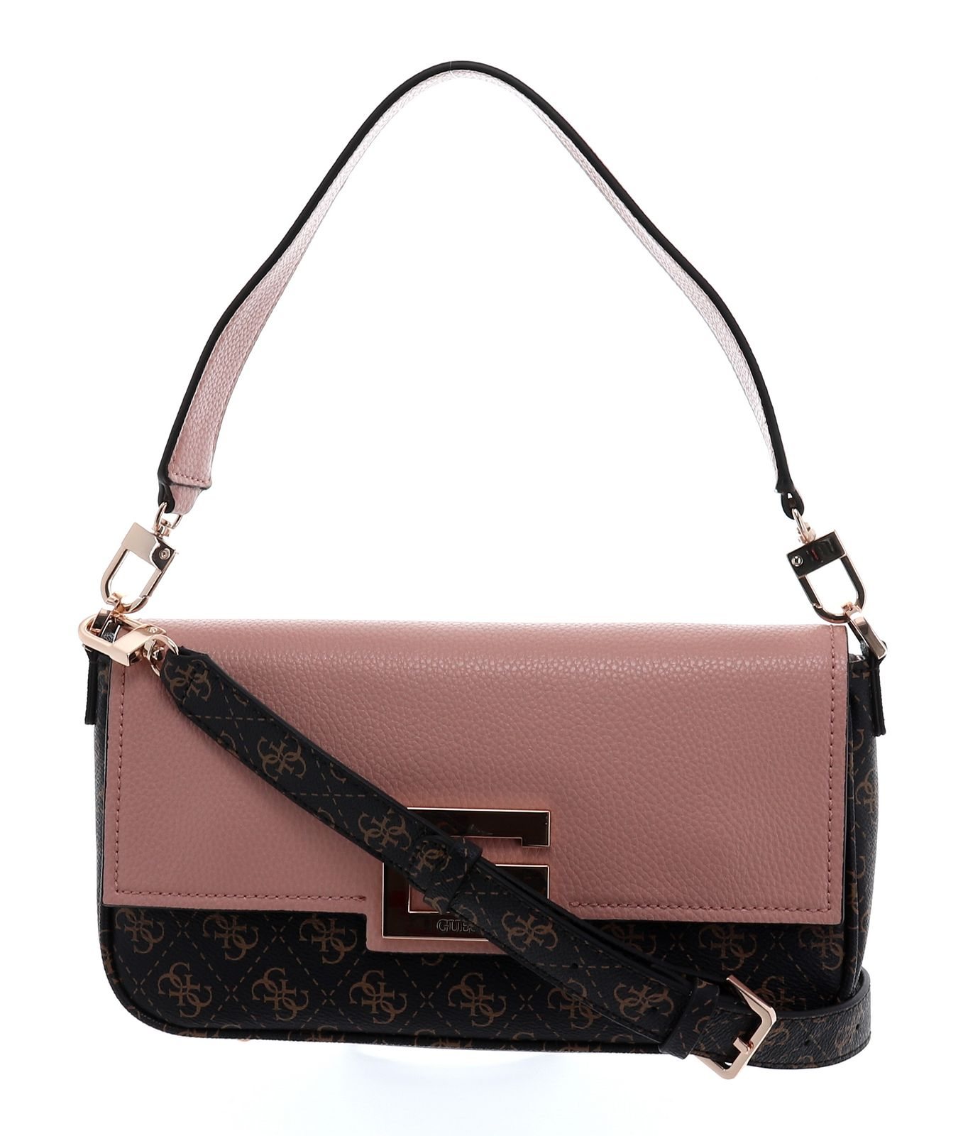Guess Umhängetasche Brightside Shoulder Bag Brown Multi in braun für Damen