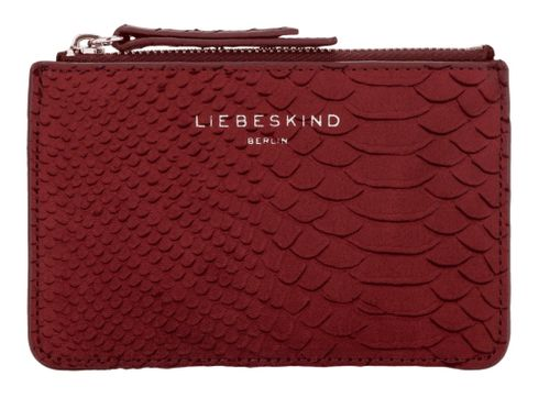 LIEBESKIND BERLIN Handcut Python SLG Star Wallet S Red Wine