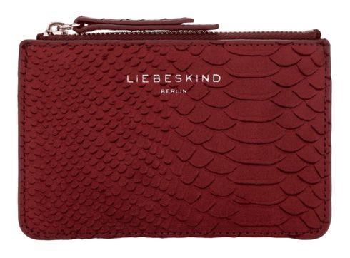 LIEBESKIND BERLIN Handcut Python SLG Star Wallet S Red Wine