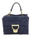 COCCINELLE Arlettis Suede Top Handle Bag Bleu buy online at modeherz