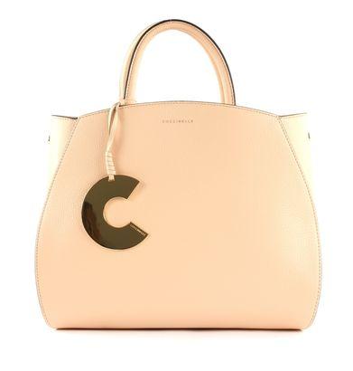COCCINELLE Concrete Handbag Nude