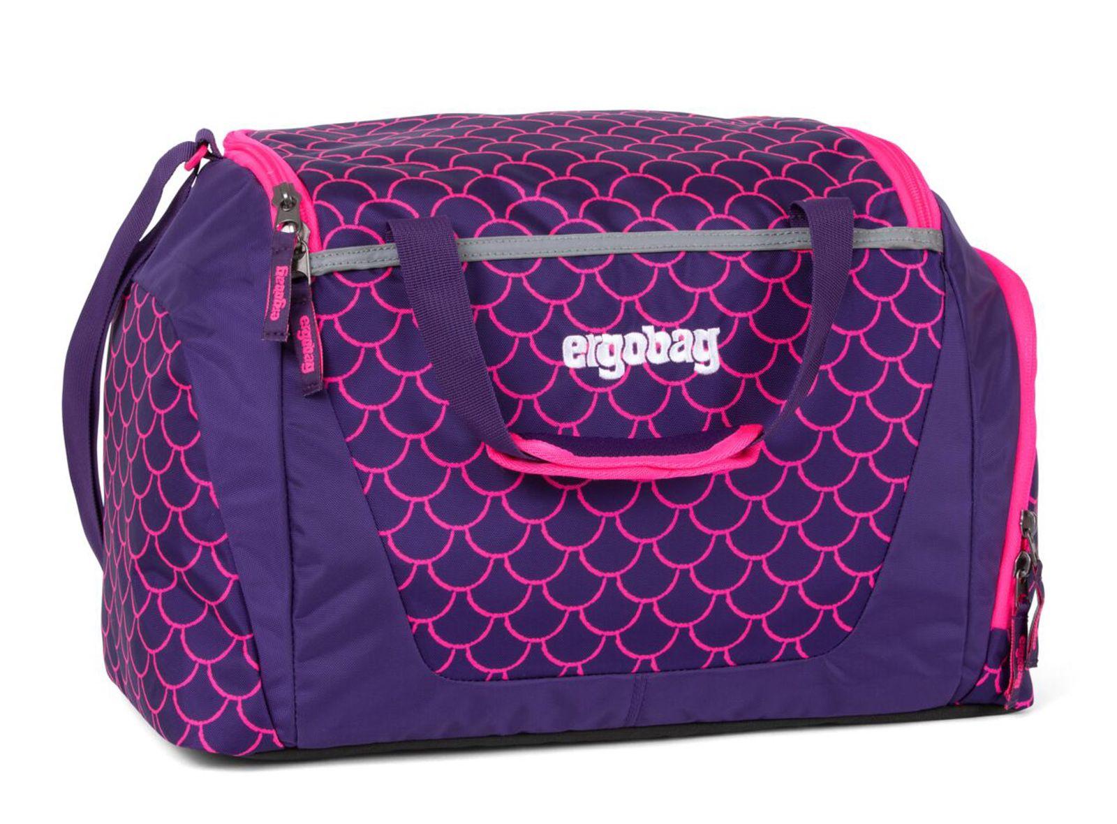 ergobag Special Edition Sportbag Sporttasche Tasche PerlentauchBär Violett Pink