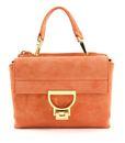 COCCINELLE Arlettis Suede Top Handle Bag Peach online kaufen bei modeherz