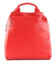 MANDARINA DUCK Mellow Leather Backpack S Flame Scarlet buy online at modeherz