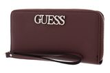 GUESS Uptown Chic SLG Large Zip Around Mocha buy online at modeherz