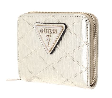 GUESS Astrid SLG Small Zip Around Gold