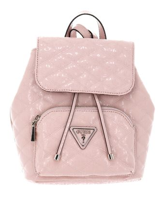 GUESS Astrid Backpack with Flap Blush