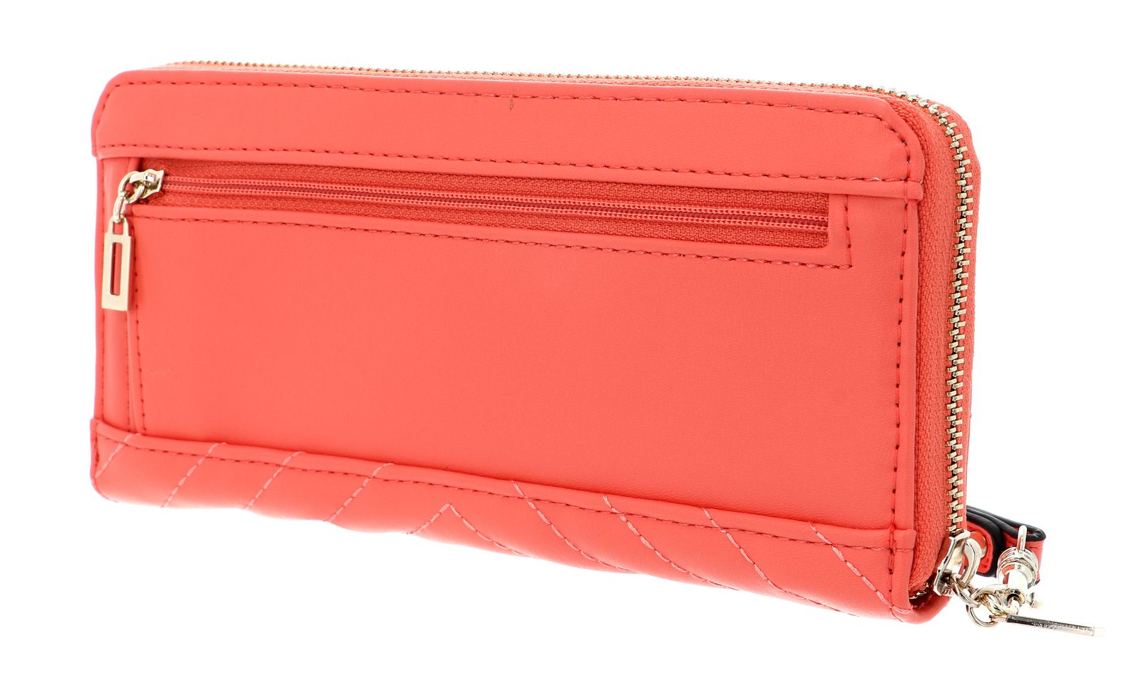 GUESS Blakely SLG Large Zip Around Coral