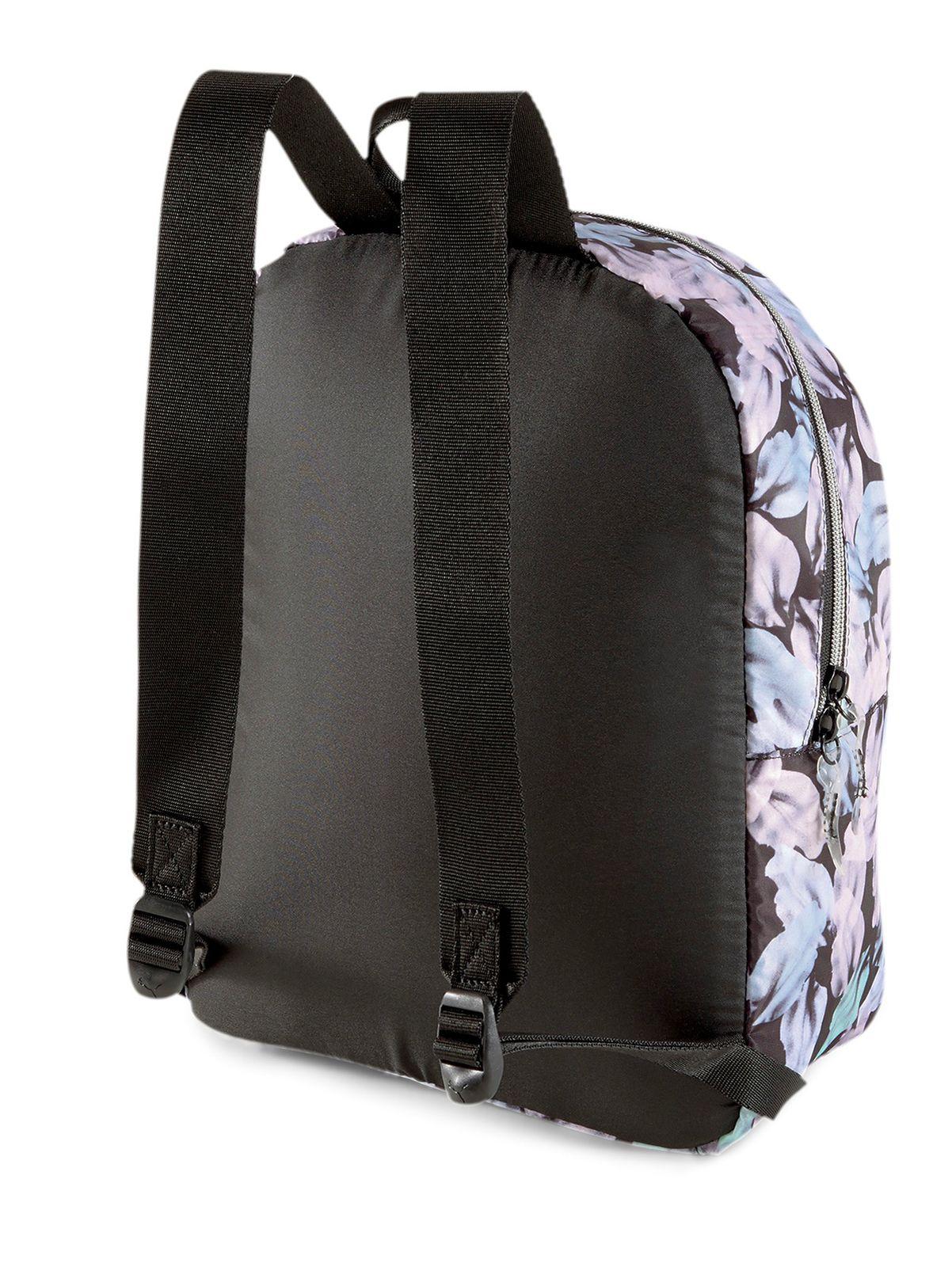 PUMA WMN Core Seasonal Backpack Puma Black Leaf Aop
