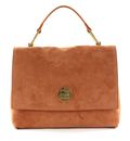 COCCINELLE Liya Suede Top Handle Bag Tan online kaufen bei modeherz