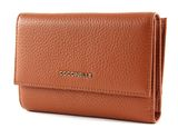 COCCINELLE Metallic Soft Flap Wallet Tan buy online at modeherz