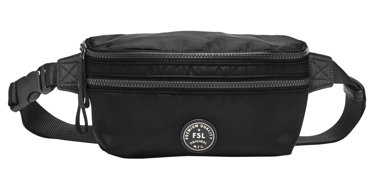 FOSSIL Buckner Waistpack Gürteltasche Tasche Black Schwarz