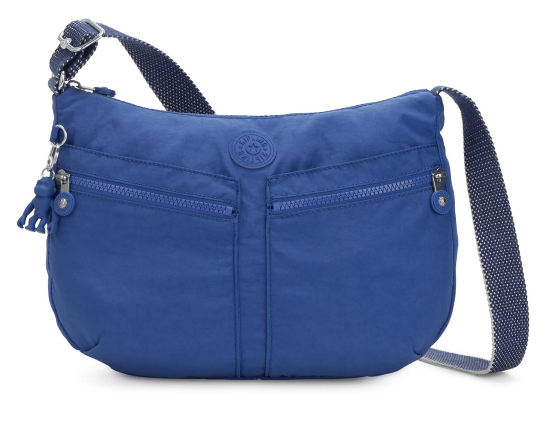 kipling Basic Eyes Wide Open Izellah Medium Shoulderbag Active Blue Blau